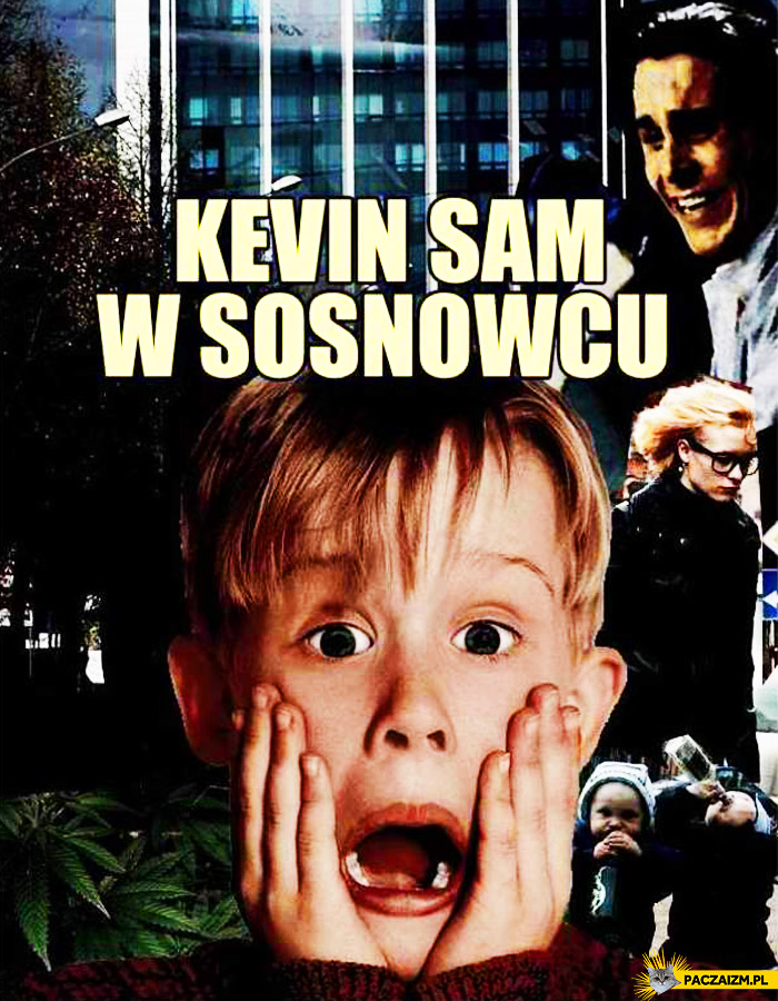 Kevin sam w Sosnowcu