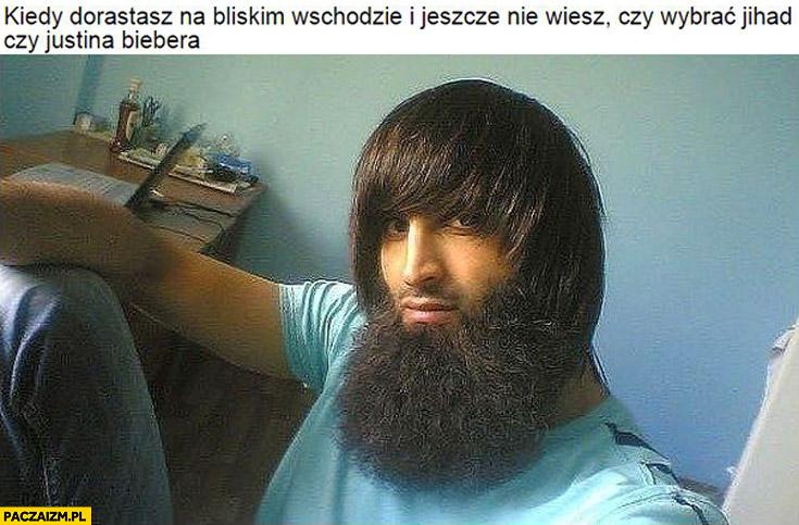 Kiedy dorastasz na Bliskim Wschodzie i jeszcze nie wiesz czy wybrać jihad czy Justina Biebera