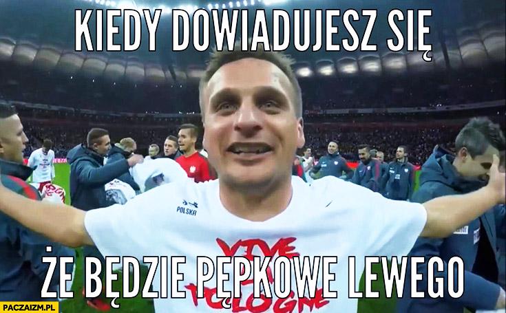 Kiedy dowiadujesz się, że będzie pępkowe Lewego. Szczęśliwy Peszko Lewandowski będzie miał dziecko