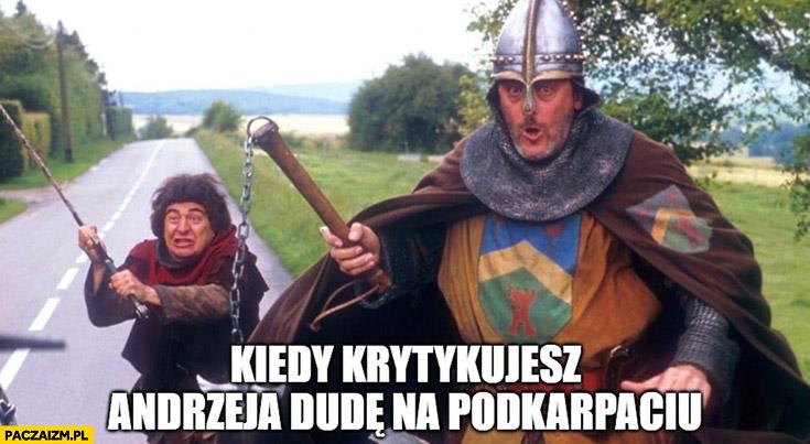 Kiedy krytykujesz Andrzeja Dudę na Podkarpaciu
