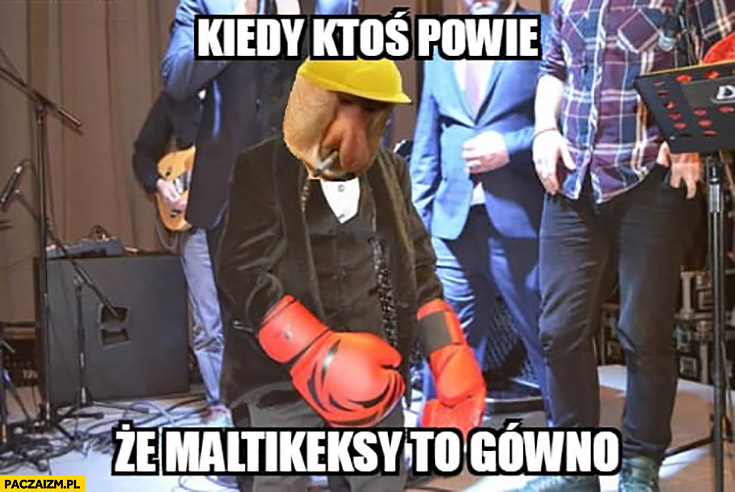 Kiedy ktoś powie, że Maltikeksy to gówno typowy Polak nosacz małpa bokser