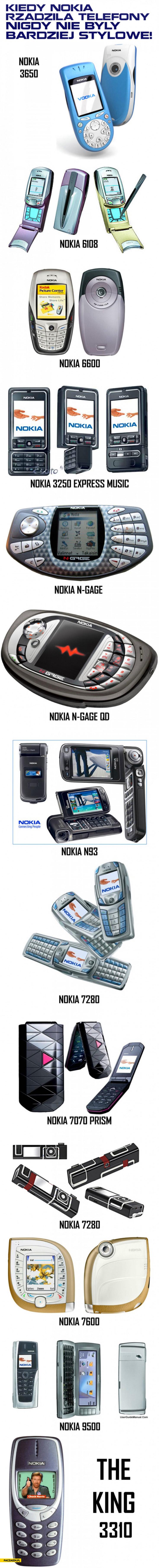 Kiedy Nokia rządziła telefony nigdy nie były bardziej stylowe