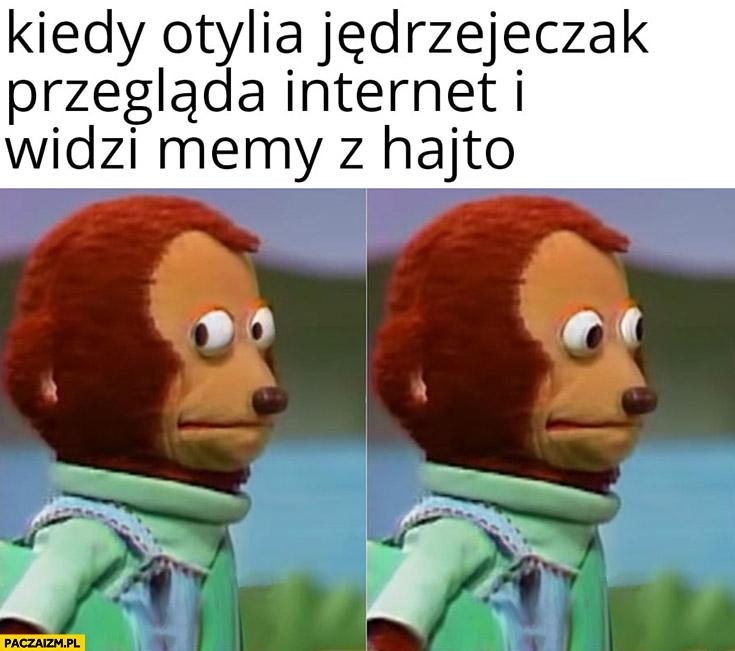 Kiedy Otylia Jędrzejczak przegląda internet i widzi memy z Tomaszem Hajto