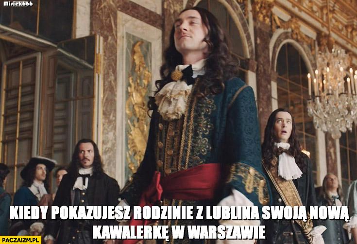 Kiedy pokazujesz rodzinie z Lublina swoją nową kawalerkę w Warszawie arystokrata