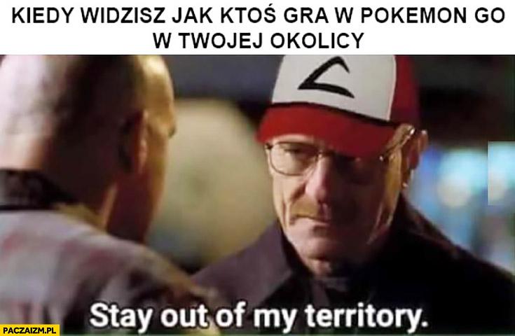 Kiedy widzisz jak ktoś gra w Pokemon GO w Twojej okolicy Breaking Bad