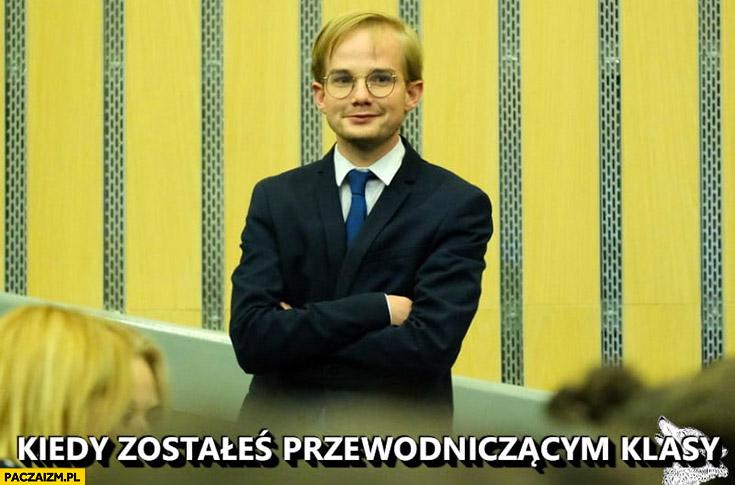 Kiedy zostałeś przewodniczącym klasy Piotr Patkowski