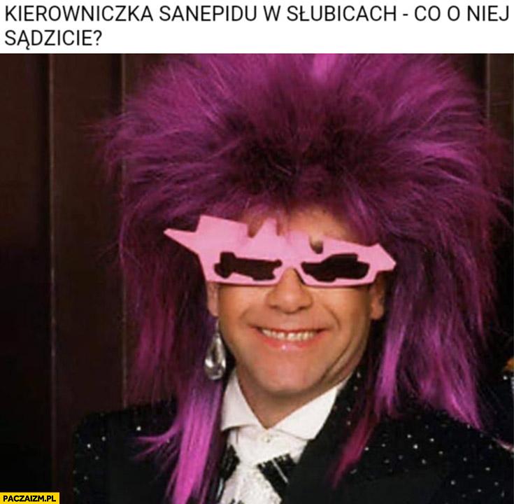 Kierowniczka dyrektorka sanepidu w Słubicach co o niej sądzicie?
