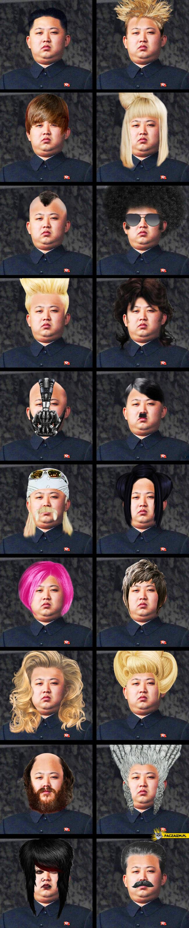 Kim Jong Un fryzury