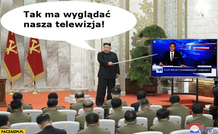 Kim Jong Un tak ma wyglądać nasza telewizja pokazuje TVP TVPis