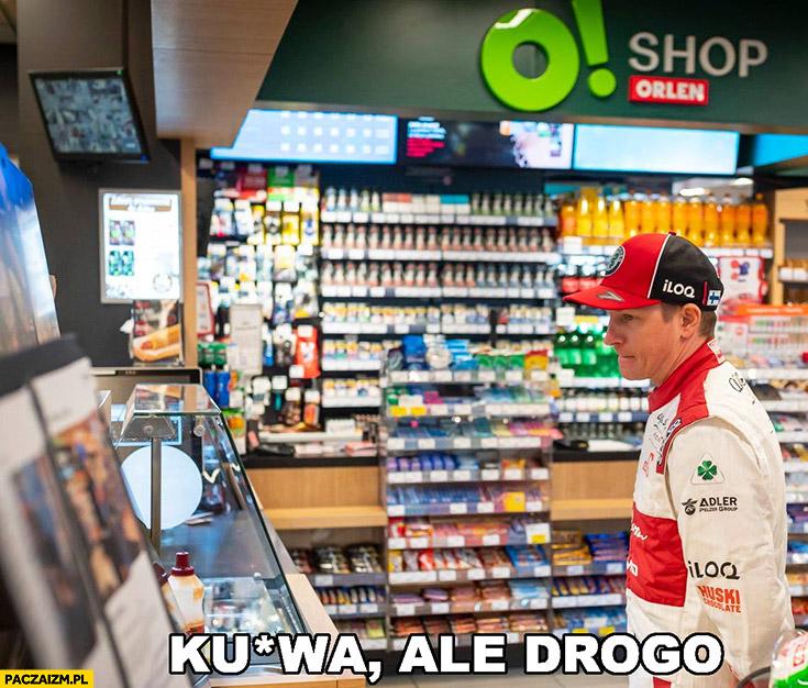 Kimi Raikkonen na Orlenie kurna ale drogo
