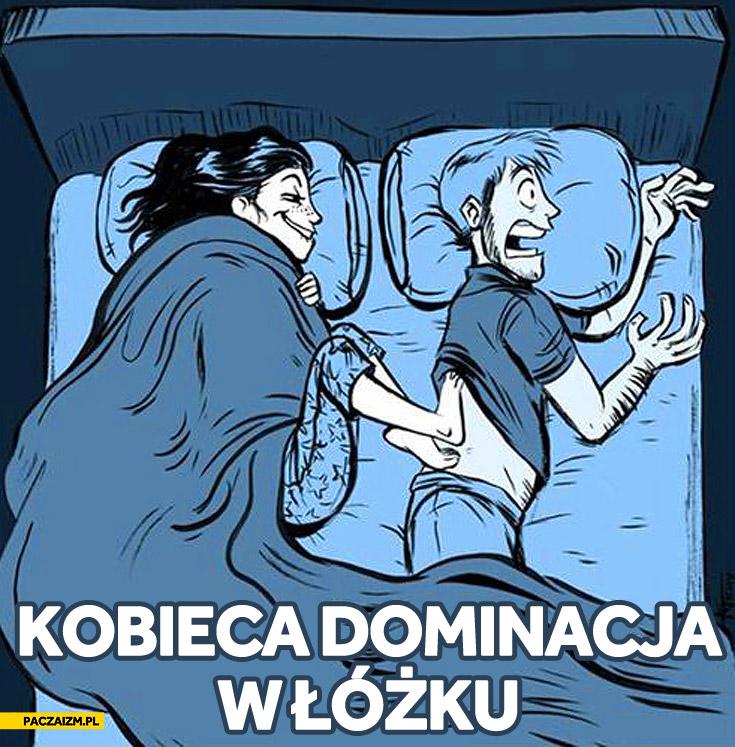 Kobieca dominacja w łóżku