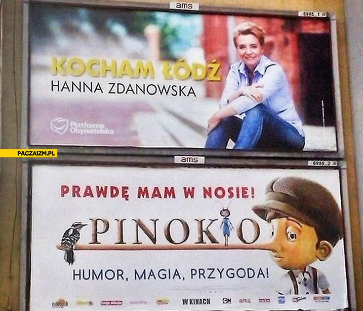 Kocham Łódź prawdę mam w nosie Zdanowska