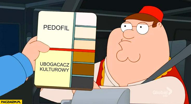 Kolor skory pedofil czy ubogacacz kulturowy Family Guy
