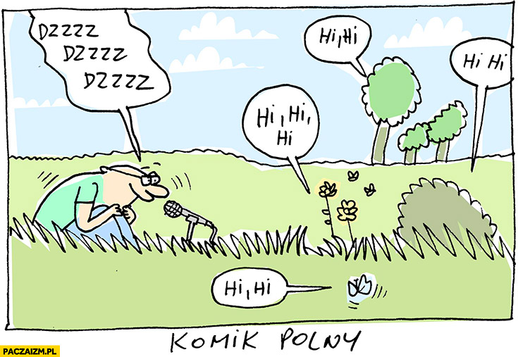 Komik polny Wilq