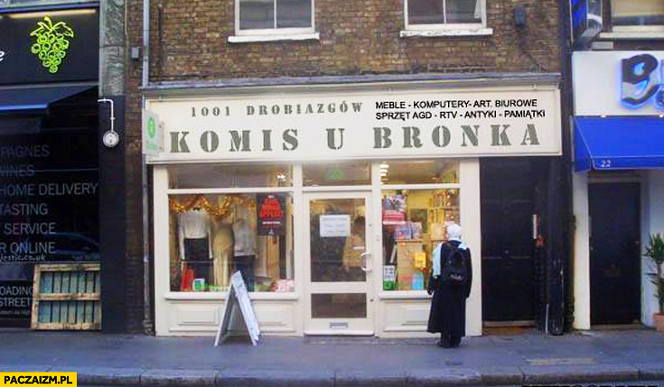 Komis u Bronka Komorowski
