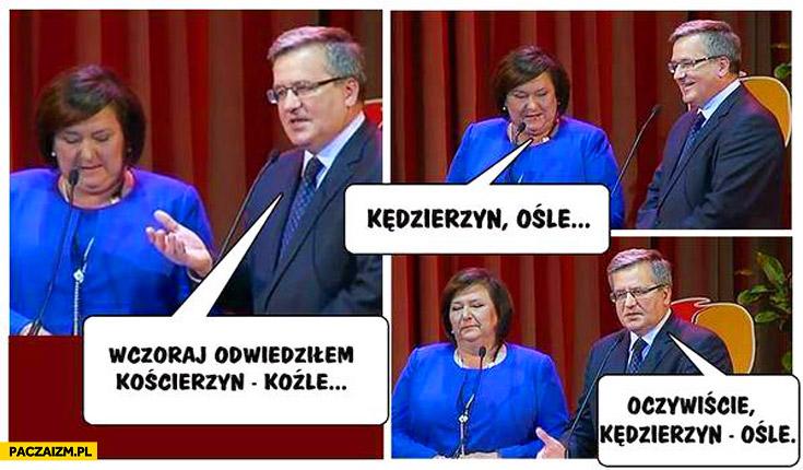 Komorowski Kościerzyn Koźle Kędzierzyn Ośle