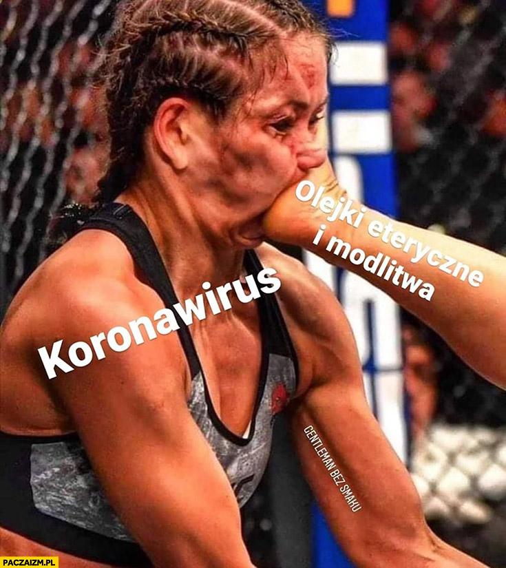 Koronawirus vs olejki eteryczne i modlitwa kop w twarz MMA Joanna Jędrzejczyk