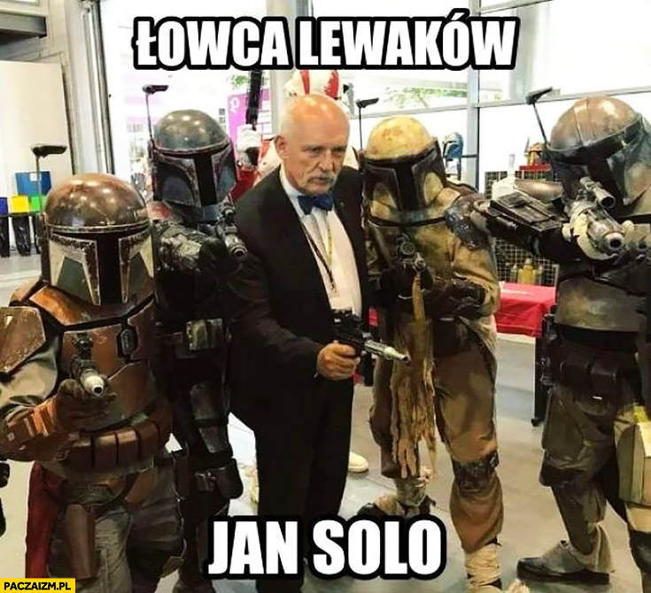 Korwin łowca lewaków Jan Solo Han Gwiezdne Wojny Star Wars
