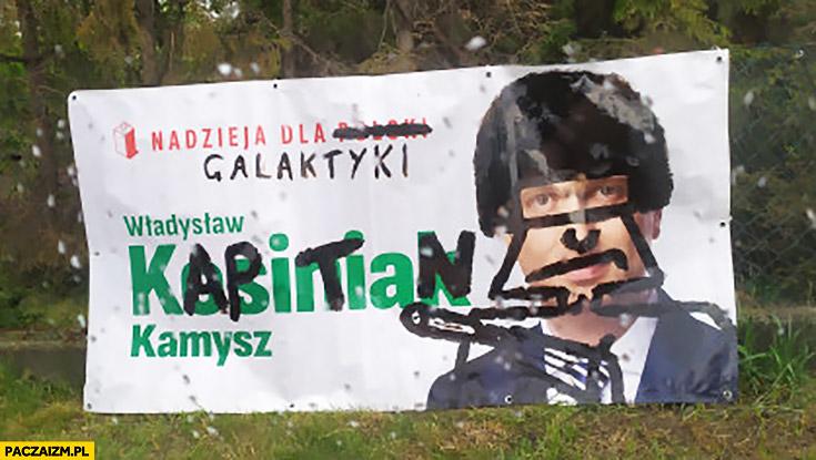 Kosiniak-Kamysz kapitan bomba nadzieja dla galaktyki baner plakat przerobiony