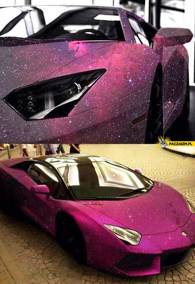Kosmiczne Lamborghini