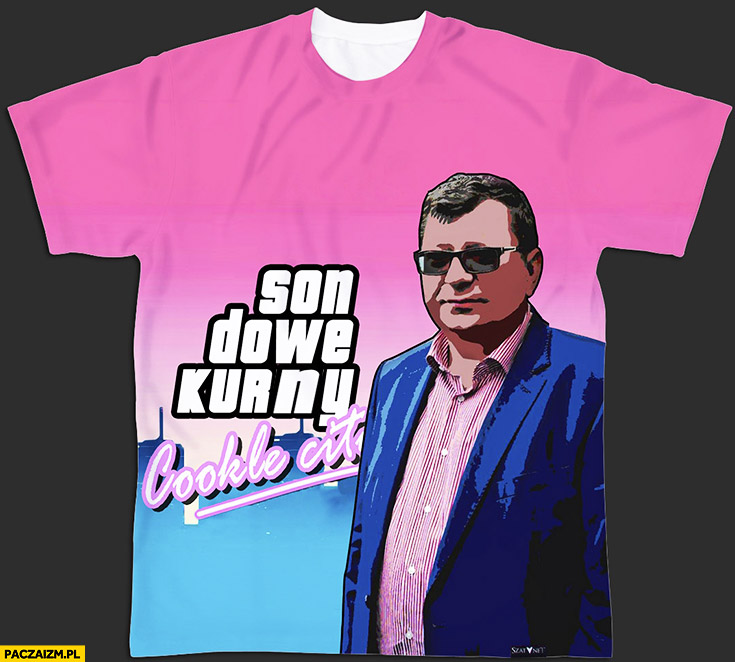 Koszulka Zbigniew Stonoga GTA Vice City son dowe kurny