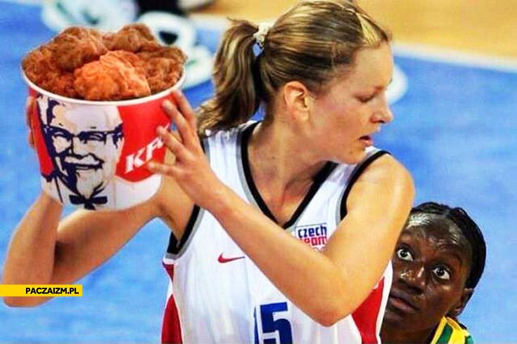 Koszykarka kubełek KFC