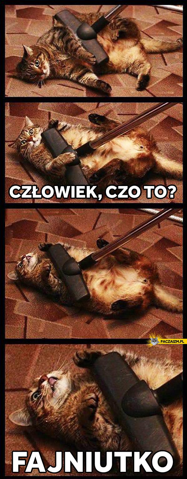 Kot odkurzacz
