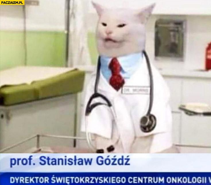 Kot prof Stanisław Góźdź Dyrektor Świętokrzyskiego centrum onkologii