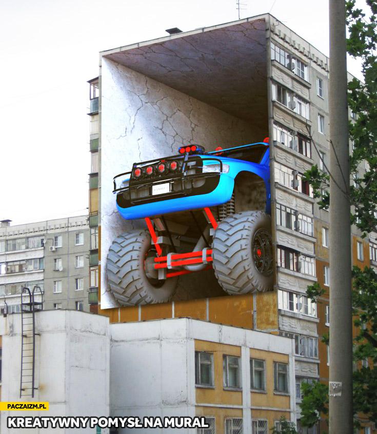 Kreatywny pomysł na mural