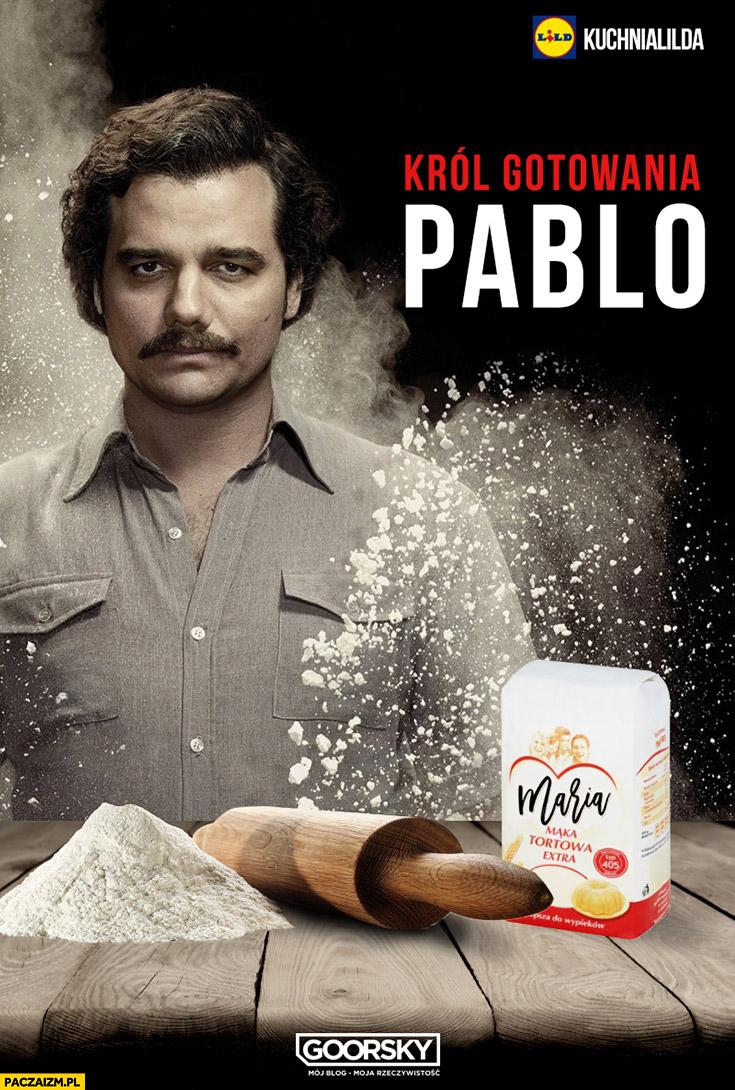 Król gotowania Pablo Escobar biała mąka Kuchnia Lidla Goorsky