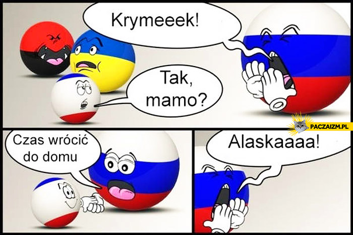 Krymek do domu Alaska