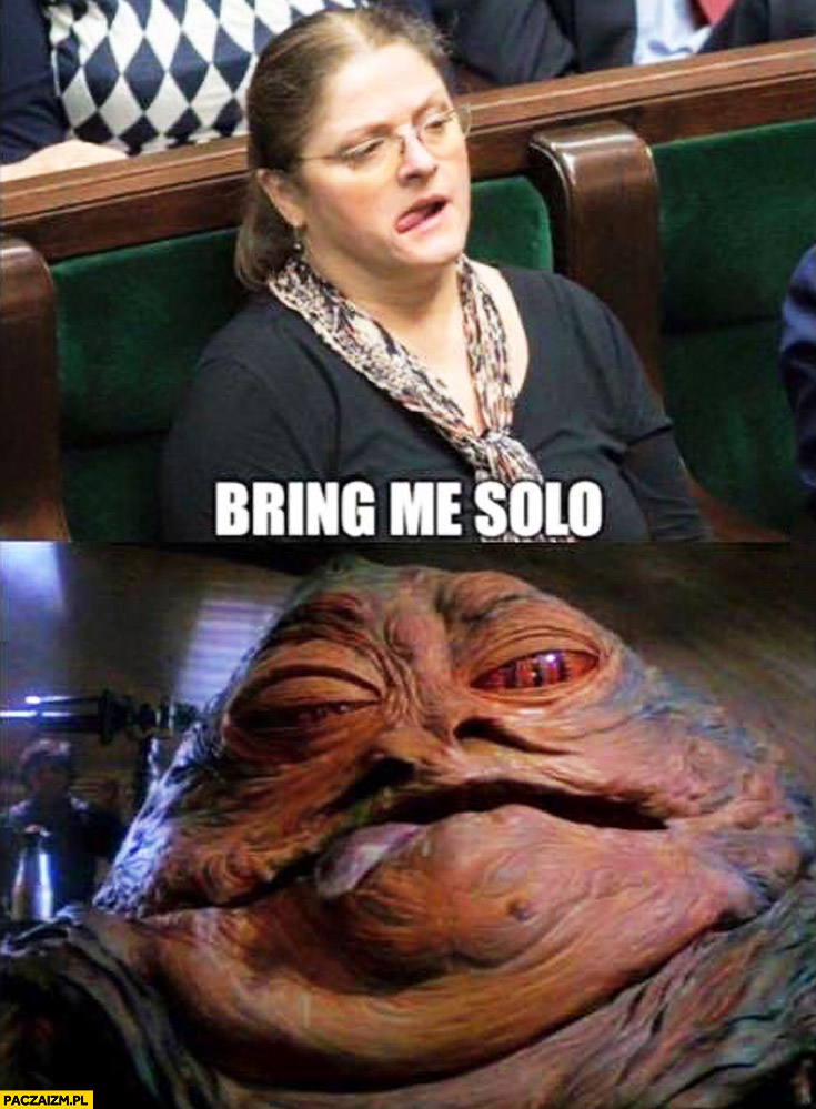 Krystyna Pawłowicz Jabba bring me the solo