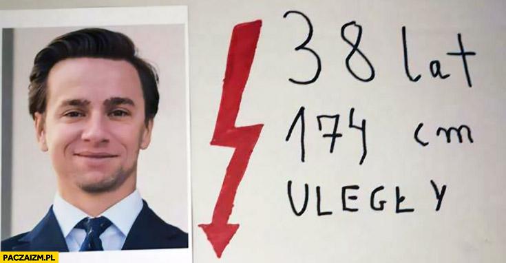 Krzysztof Bosak, 38 lat, 174 cm, uległy transparent