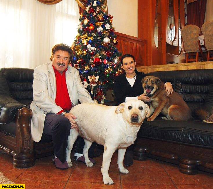 Krzysztof Krawczyk fail z psem od tyłu