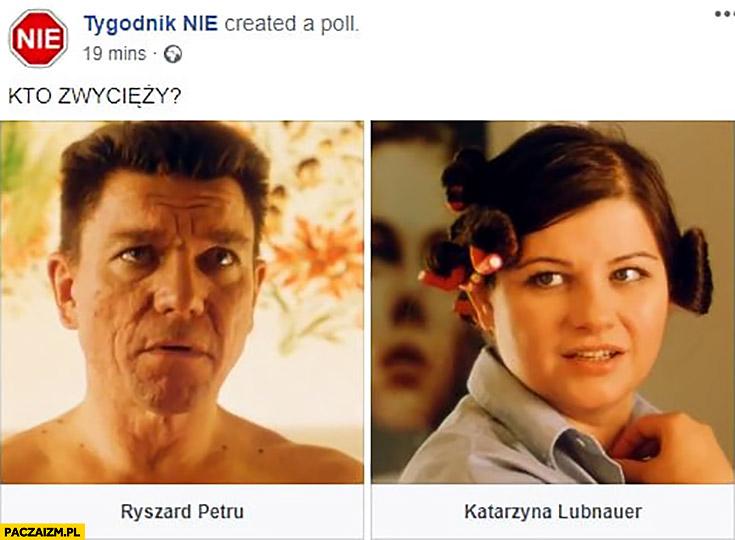 Kto zwycięży: Ryszard Petru czy Katarzyna Lubnauer? Chłopaki nie płaczą Tygodnik nie