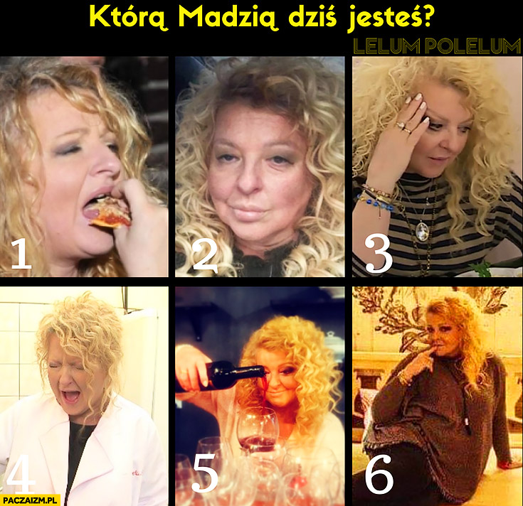 Którą Madzią dziś jesteś? Magda Gessler