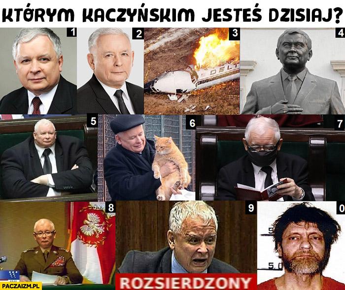Którym Kaczyńskim jesteś dzisiaj? Numery od 0 do 9