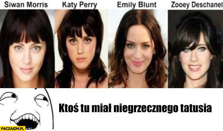 Ktoś tu miał niegrzecznego tatusia Katy Perry Zooey Deschanel Emily Blunt