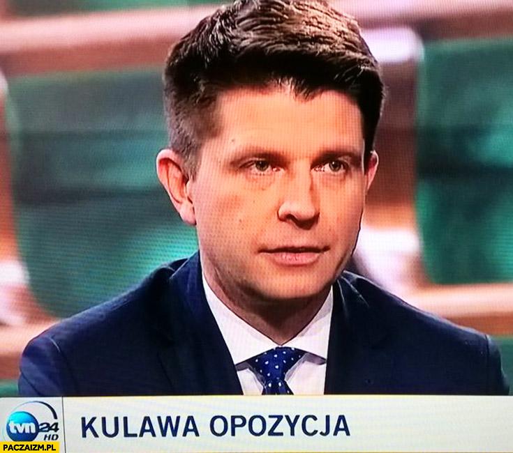 Kulawa opozycja Petru TVN