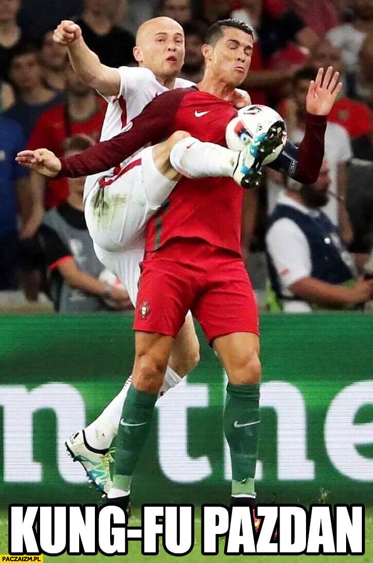 Kung-fu Pazdan Ronaldo
