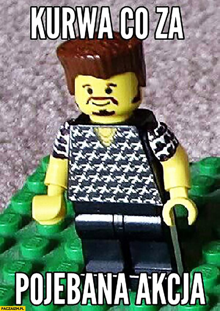 Kurna co za pojechana akcja LEGO Chłopaki z baraków