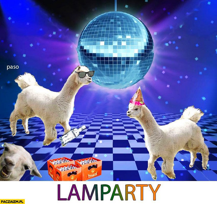 Lamparty lama party