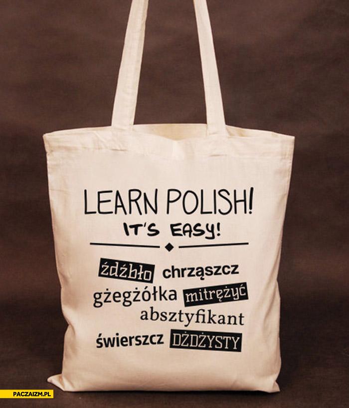 Learn Polish it's easy