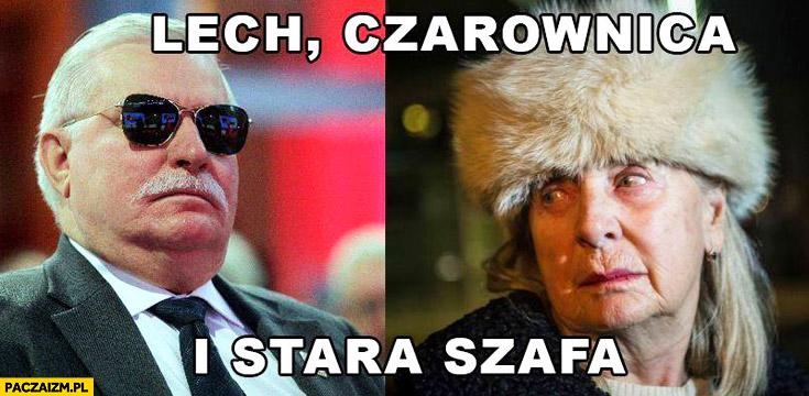 Lech, czarownica i stara szafa. Wałęsa Bolek Kiszczakowa
