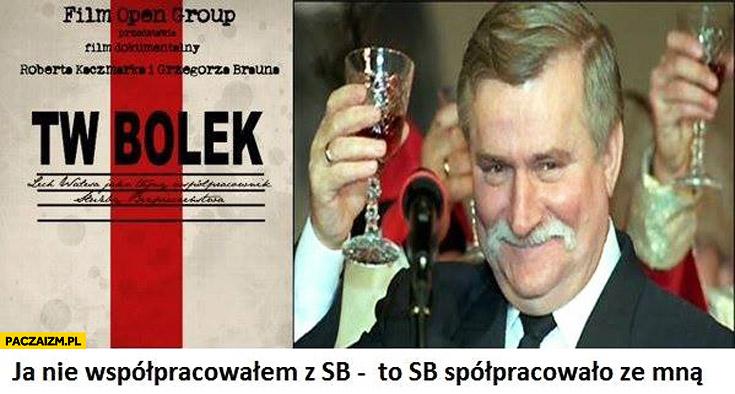 Lech Wałęsa ja nie współpracowałem z SB to SB współpracowało ze mną