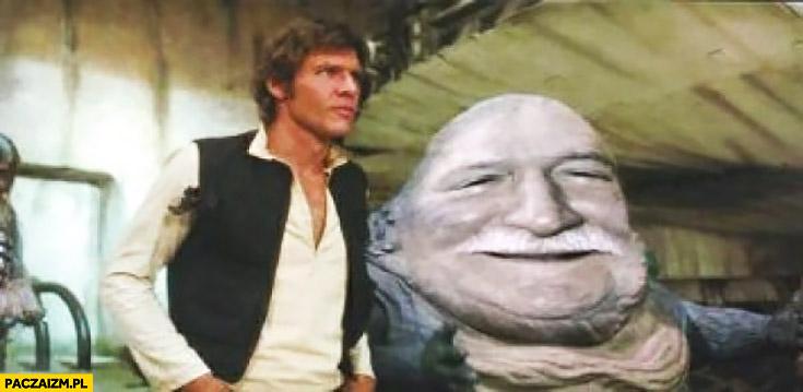 Lech Wałęsa Jabba the Hutt Gwiezdne Wojny przeróbka