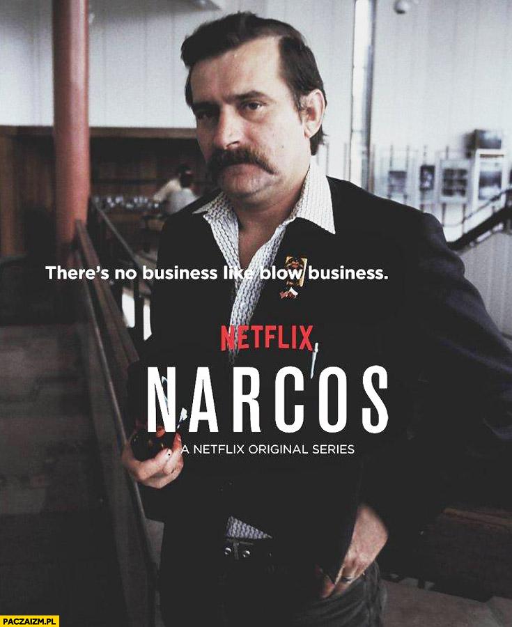 Lech Wałęsa Narcos Netflix przeróbka