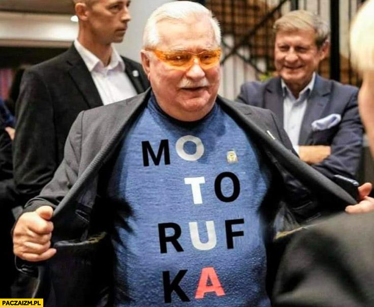 Lech Wałęsa OTUA motorufka zamiast konstytucja