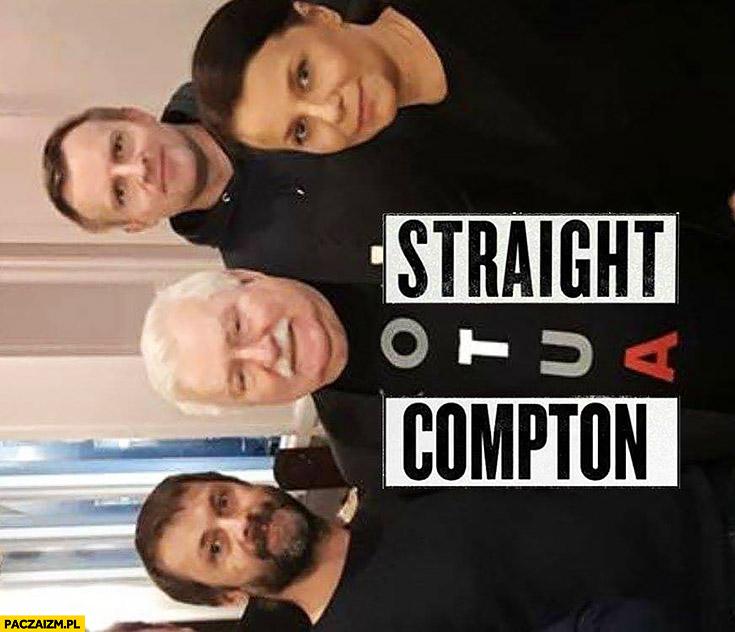 Lech Wałęsa straight otua compton koszulka konstytucja na potrzebie