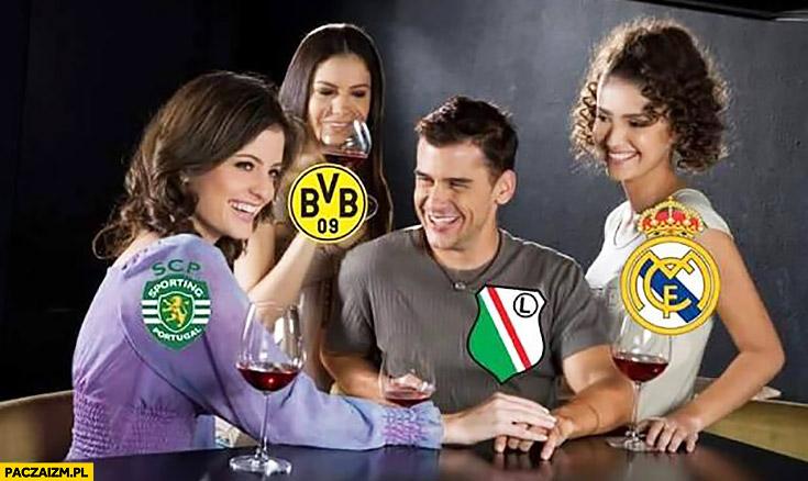 Legia w Lidze Mistrzów laski w klubie